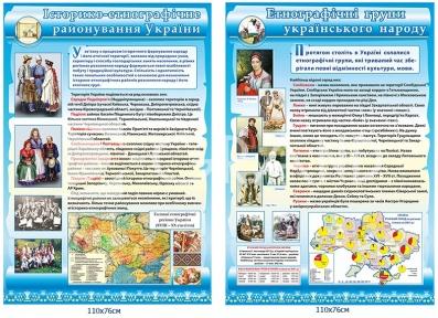 Комплект стендів з етнографії українського народу