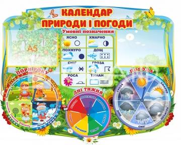 Стенд «Календар погоди і природи»