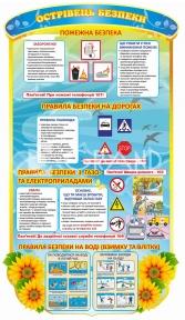 Стенд «Острівець безпеки»